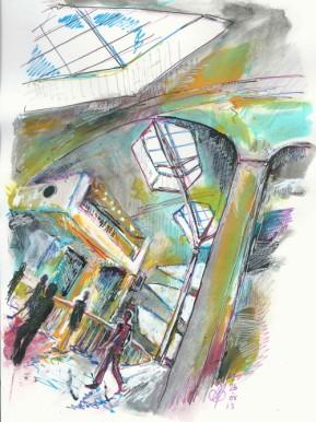 Festival Place (Derwent Graphik Line Painters)