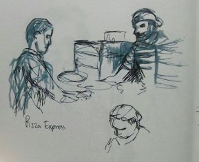 Pizza Express (fountain pen)