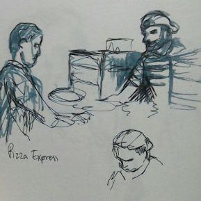 Pizza Express (fountain pen)