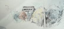 TheSkyline Plaza (AKA the Licorice Allsort) from Eastrop Park - Amanda