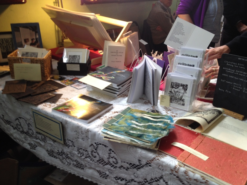 Bookface Bookender at the Rising Sun Arts Centre, Reading continues Sunday 9 October, 11 a.m. – 5p.m.